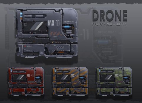Drone variations by KotSx