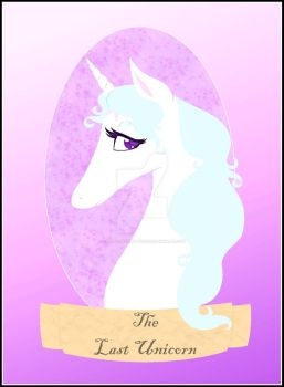 The Last Unicorn by CARTOONFANATIC3