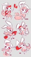 Pink Bunny by ZiyoLing
