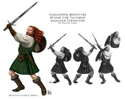 Highlander Mini for Talisman by feliciacano