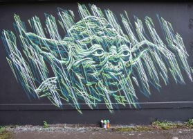 YODA by GRAFFOFLARGE