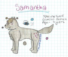 Samantha by Mudfire4