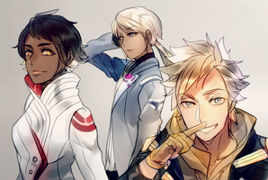 Valor, Mystic and Instinct by Cioccolatodorima