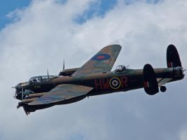 Avro Lancaster Sywell by davepphotographer
