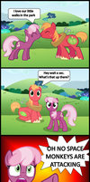 Scootaloo's playtime by bronybyexception