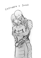 Cassiopeia and Singed by Dianthuss