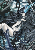 Black Rock Shooter by BishoNoTeresa