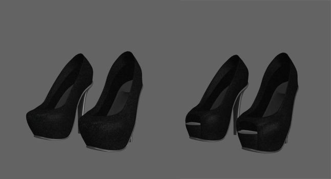 High Heels Shoes Pack by UndeadMentor