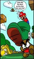 Rathacon Drawings: Super Mario Bros. 3 by BlueIke