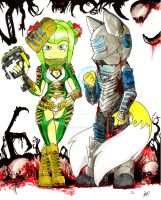 Tailsmo version DEAD SPACE by erosmilestailsprower