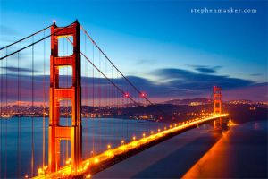 Golden Gate Bridge by SilverSkies07