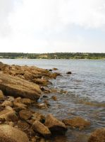 Possum Kingdom Lake: Rocks 3 by Stock-by-Kai