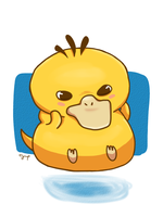 Psyduck! by Juno-p