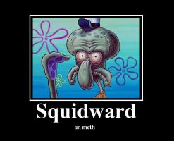 Squidward by rumper1