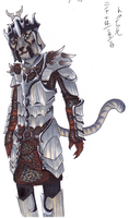 J'zargo in dragonscale armor by tobias-sama