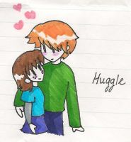 Huggle by underneath-the-paint