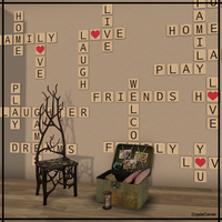 SL: Scrabble With Friends by CryssieCarver