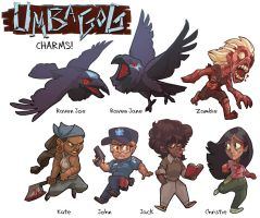 Vote on Umbagog Charms Series1 by FablePaint