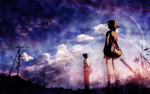 5 Centimeters Per Second Wallpaper 3 by umi-no-mizu