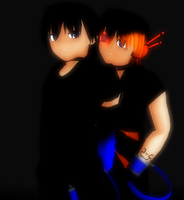 [MMD] Restrained by khftw