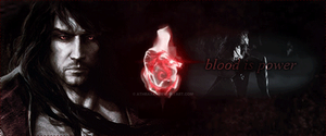 Blood is Power by Athraxas