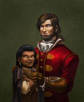 AC: Rasul and Captain Francisco Aguilar Saer by Luzerrante