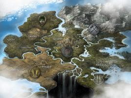 Fantasy Game Map by jbrown67