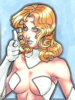 PSC WHITE QUEEN EMMA FROST by aurielus