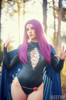 Teen Titans - Raven -01- by beethy