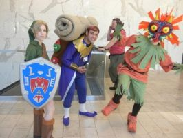 Majora's Mask- Group Shot by mangofish