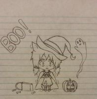 Happy Halloween! BOO! by Code-Sonic