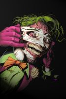 Joker-Happy Face colors by KenHunt