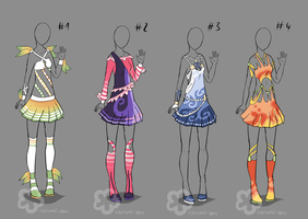 More Fancy Dresses - sold by Nahemii-san