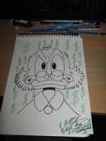 My Uncle Scrooge drawing. 2 by MortenEng21