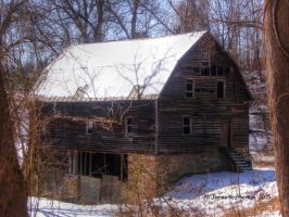 Abandoned Farm Structure by jim88bro