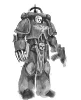 Space Marine WIP (Ideas welcome) by Nowio