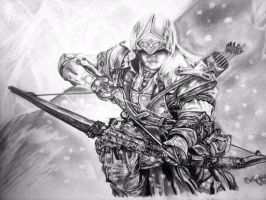Connor Assassin's Creed by Tatyns