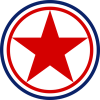 Roundel of the North Korean Airforce by ShitAllOverHumanity