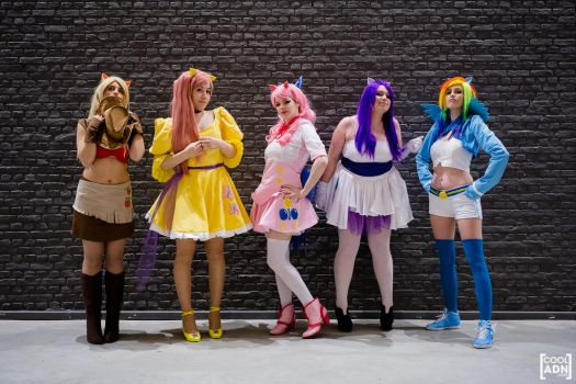 My Little Pony : Friendship is Magic ! by Temi-Cosplay