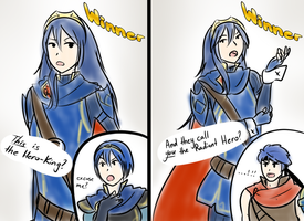 Wow Lucina by KyubeyLovesYou