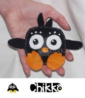 Chikko Plushie by HollysHobbies