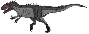 Carcharodontosaurus concept by beastisign