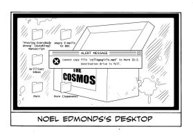 Noel Edmonds's Desktop by TomRFoster