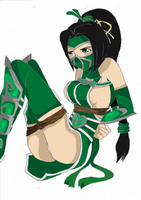 Akali Captured by Natsuko-Hiragi