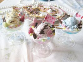 Parfaits with Sweets Overload by KeoDear