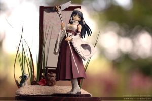 Shining Wind: Ryuna Diorama by BlackMageAlodia