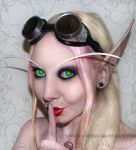2nd blood elf cosplay- Rogue by Countess-Grotesque