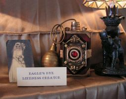 Steampunk camera by Cresciangirl