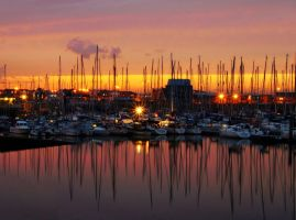 Sunset at Howth by superflyninja