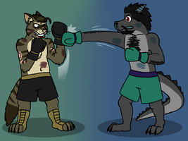 YCH: Lucrum vs Timo by JomoOval